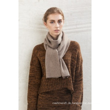 2016 neue Design 100% Kaschmir Langen Plain Farbe Schal