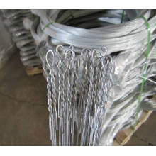 Single Loop Bale Krawatten Draht