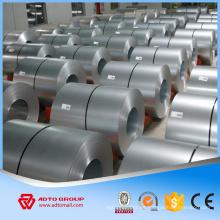 Bobina de acero galvanizada en frío GI, bobina de acero galvanizada en caliente de la inmersión venta caliente en África