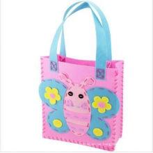 Heißer Verkauf 3D Eva DIY, fuzzy Tasche Spielzeug für Kinder, Tier Biene süße Handtasche