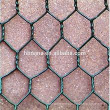 PVC coated hexagonal wire mesh / hexagonal wire mesh netting