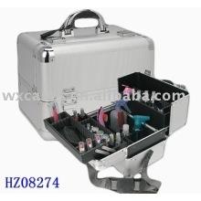 caja cosmética de aluminio fuerte fashionale con diferentes colores