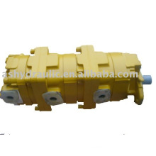 PC100-2,PC120-2,PC100-1,PC120-1 triple gear hydraulic main pump,705-56-34000,705-58-34000