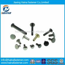 Различные размеры Нержавеющая сталь Трубчатые заклепки / Латунные трубчатые заклепки / Алюминиевые трубчатые заклепки