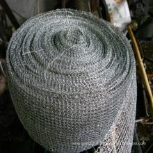 Mesh en acier inoxydable en tricot (grade 316, 304, 316L, 304lL)