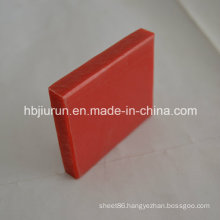 0.91-0.97g/cm3 Density PP Plastic Board with Red Color