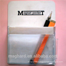 wholesale China customized free design pen Holder with rubber magnet for office convenience
