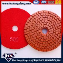 Coussinets de polissage diamant flexible humide à haute brillance (HX)