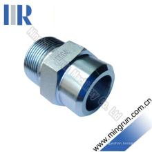 Raccord de tube hydraulique de soudure de filetage métrique (1CW)