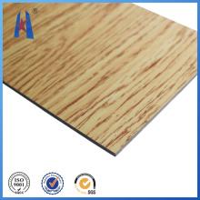 Nuevo panel compuesto de aluminio de madera Precio más barato de Quaity