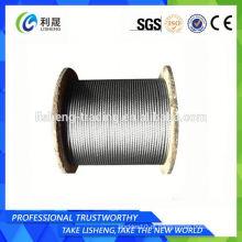 Produto de fio de aço não giratório 19x7