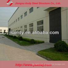 Atelier à faible coût avec Steel Arch Truss Structure for Export