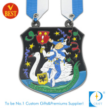 Wholesale China Customized Baking Varnish Souvenir Medal in Cartoon Style