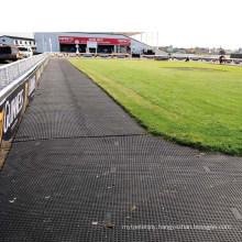 Heavy Duty Reinforced Inserted Stainless Steel Race Horse Racecourse Rubber Mat