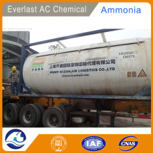 Distribute Ammonia Bulk in iso tank