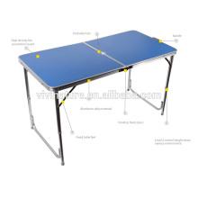 Mobilier de camping - Ensemble de table et chaise de camping en aluminium