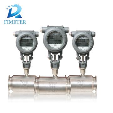 medidor de flujo de agua plástico electrónico