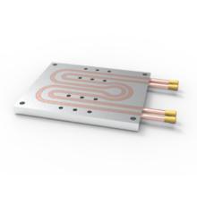 Custom Aluminium 6063 Heat Sink with Copper Pipes