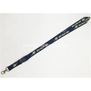 Custom Woven Jacquard Lanyards For Promotion Gifts