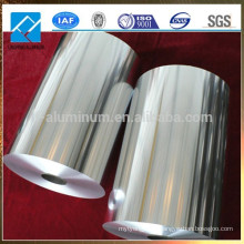 Hoja de Aluminio de Rollo Jumbo para Bolsas de Aislamiento