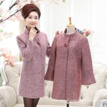 Eleganz und Mode Wintermantel für Frauen mittleren Alters