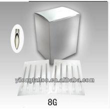 Agulha de perfuração G8 316L inox