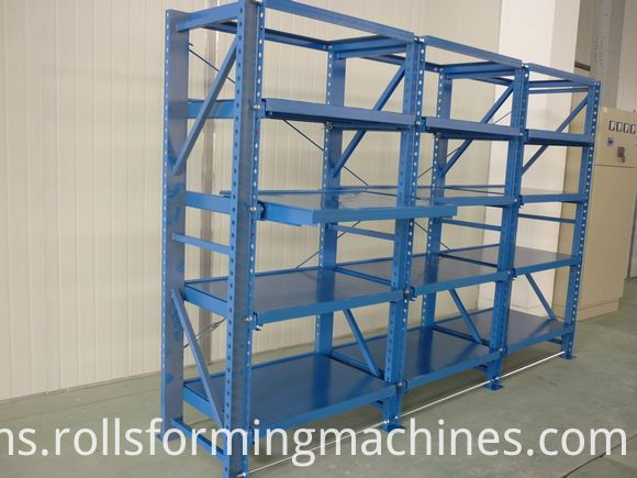 Racking Shelf Roll Forming Machine