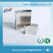 China Wholesale Nickel Neodymium Performance Arc Magnet