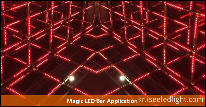 Magic LED 3d tube