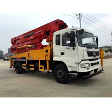 Camion de transport de pompage de mélangeur de béton de 28m-47m à vendre