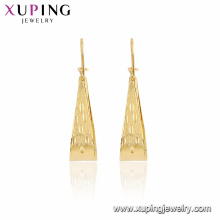 96286 xuping gold eardrops Elegant designs factory china earrings