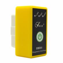 Viecar con encendido/apagado encendido interruptor Elm327 Bluetooth 2.0 Obdii / OBD2 Auto diagnóstico escáner herramienta