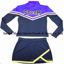 Long Sleeve Cheerleader Uniforms