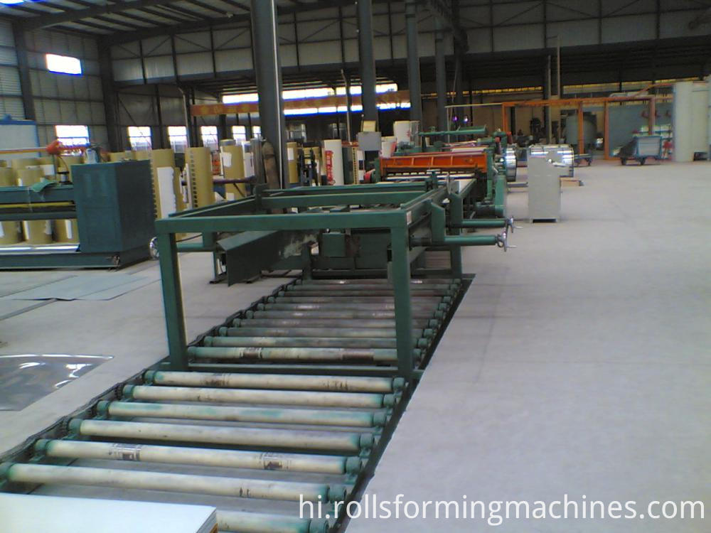 cut to length production line 1