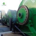 Tragbare kleine überschüssige Reifen-Plastikpyrolyse-Anlage, zum mit Behälter zu ölen