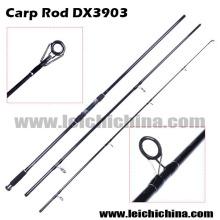 Alta qualidade de fibra de carbono vara de pesca da carpa
