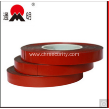 Adheisve Red Film Black Foam Tape for Customized Logo