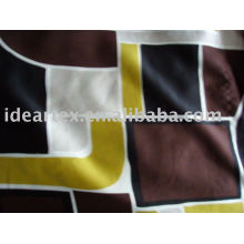 Spandex Satin Fabric Polyester Printed