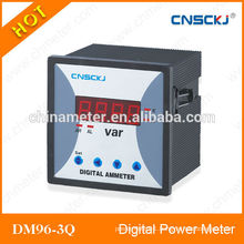 DM96-3Q three phase digital reactive power meter