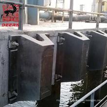 Deers dock marine rubber super arch fender for vessel