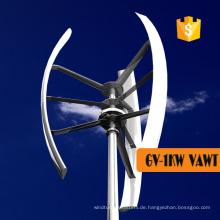 Kleine vertikale Windkraftanlage mit niedriger Geschwindigkeit zum Verkauf