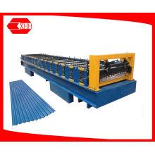 Máquina de fabricação de folhas de telhado ondulado de telha de metal (YX19-76.2-762 / 838)