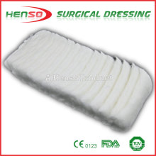 HENSO Surgical Absorbent Zig-Zag Algodón