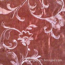 Embroidery velvet fabric, made of viscose