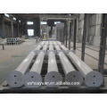 1 Meter Höhe benutzerdefinierte achteckige Stahl Parkplatz Pole
