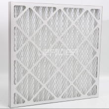 Cardboard Frame Pleated Panel Air Filter G4
