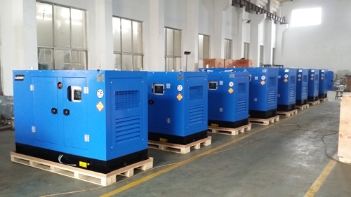 Weifang 30KW Soundproof Generators Powered by K4100ZD