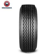 NeoTerra truck tyre 445/65R22.5 TBR with mileage warranty 120,000km,5-line Regional Long Haul Trailer patten for Europe market