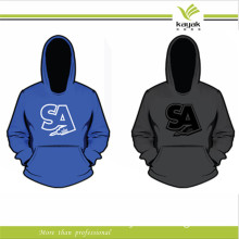 Custom Man 100% Cotton Embroidery Hoodies (KY-H042)