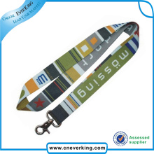Heat Transfer Printing International Flag Lanyards